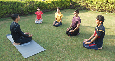 Group Yoga in Gurgaon
